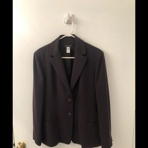 Jones New York brown jacket size 12